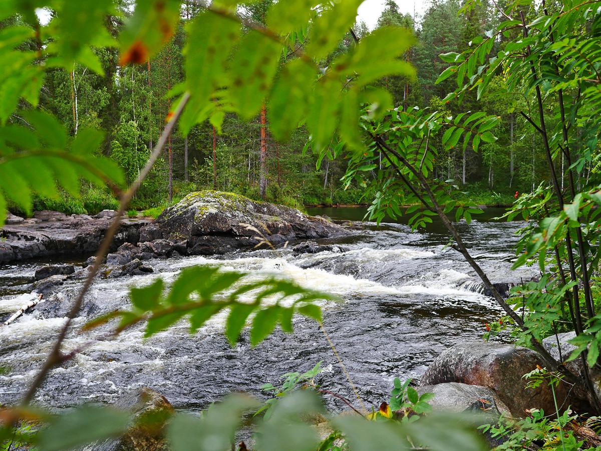 Водопад Куми - синдром Калевалы