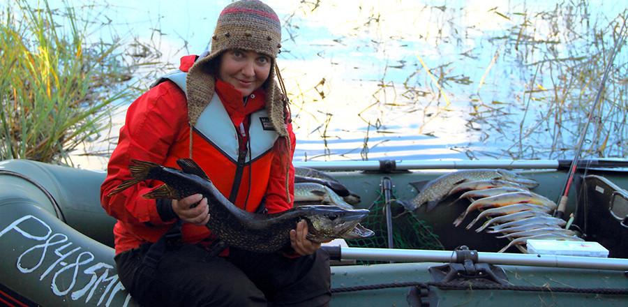 Рыбалка в Карелии летом и осенью