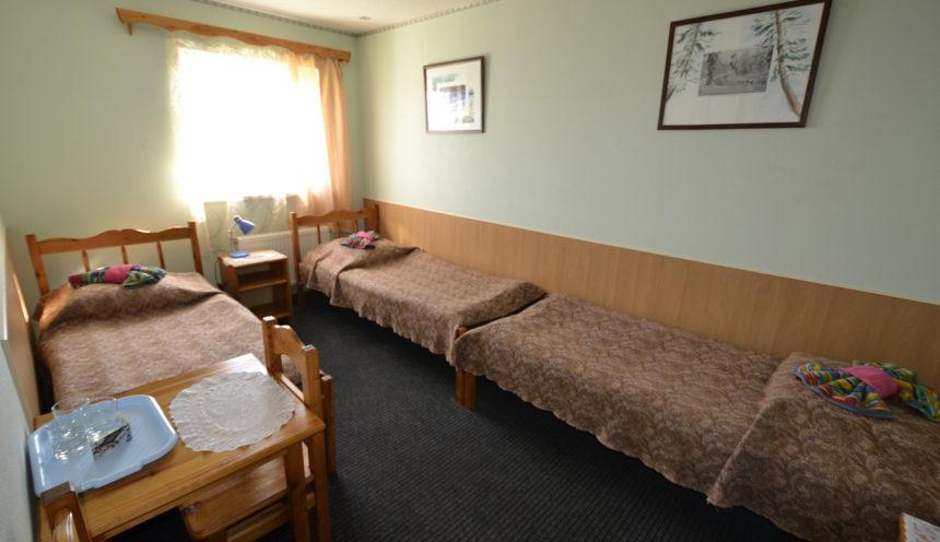 Отель ВелТ номер блок (triple)