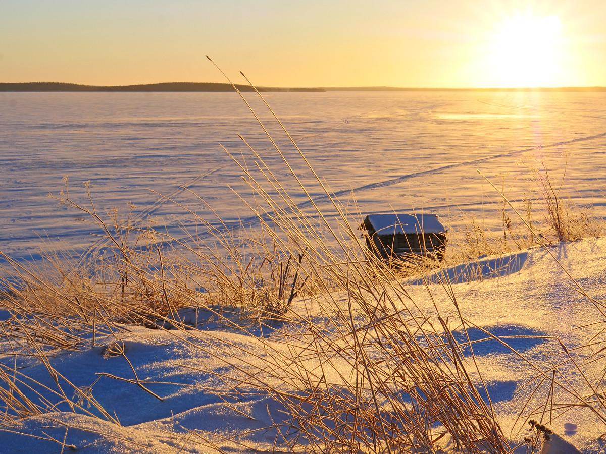 Зимняя экскурсия - Калевала родина эпоса