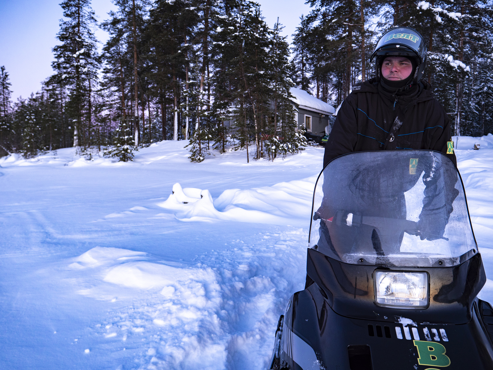 Тур на снегоходах в Карелии зимой - северный прорыв лайт