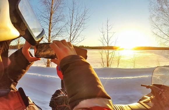 Сафари на снегоходах «Ледовый пробег»