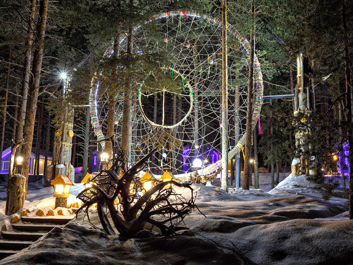 Тур на Новый год в Карелию Калевала