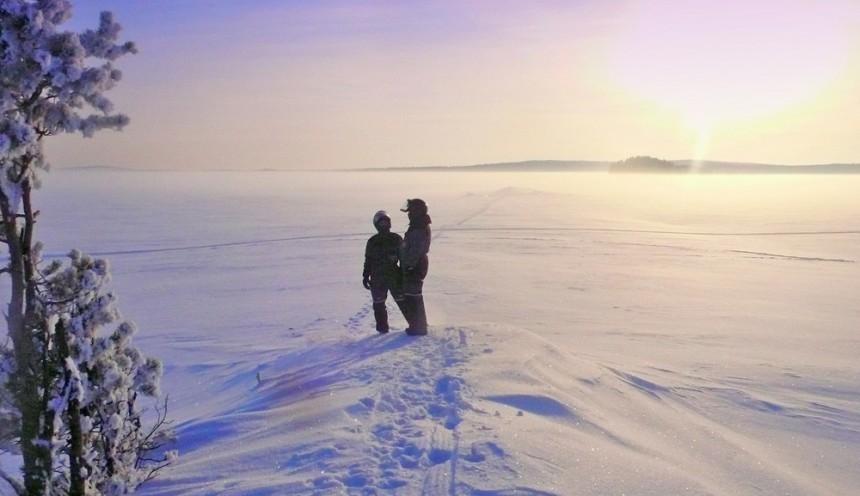 Тур на снегоходах в Карелии Северный прорыв Лайт