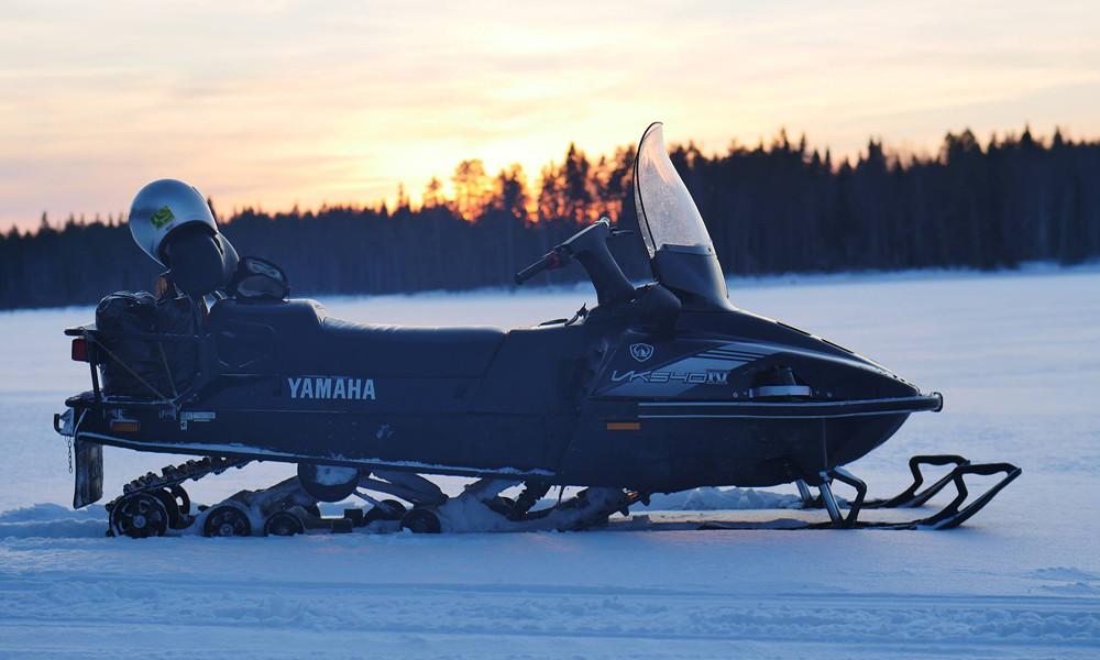 Тур на снегоходах в Карелии Северный прорыв