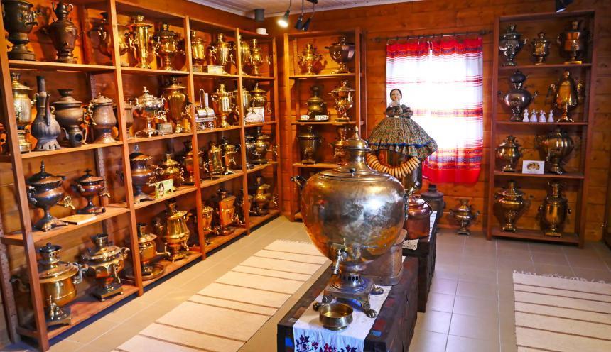 хутор кормило - музей самоваров