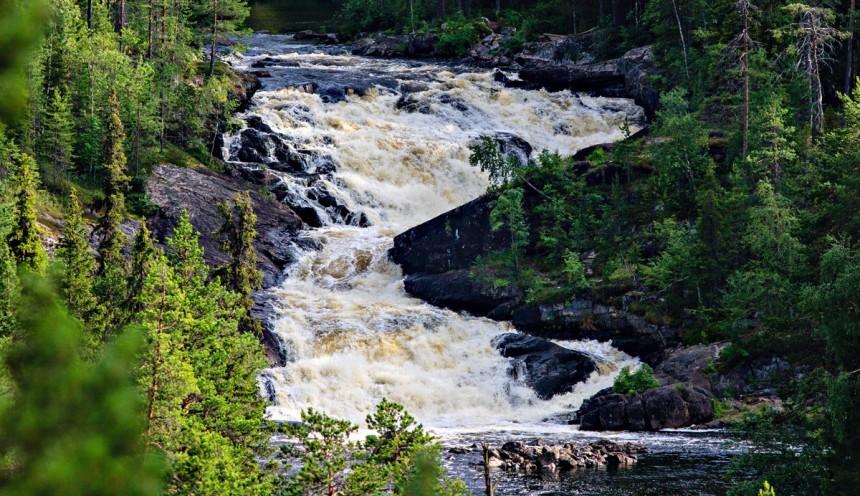 Водопады Карелии - экскурсия к водопаду Куми-порог