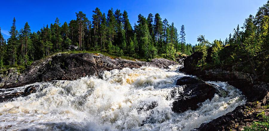 Водопад Куми-порог экскурсия