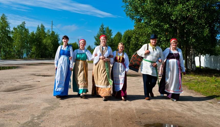 летняя экскурсия по Калевале