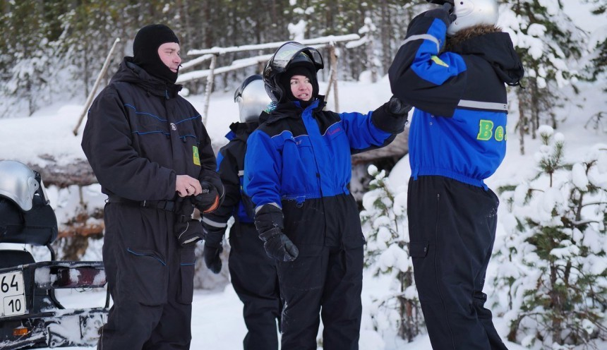Северная Карелия Калевальский зимний дресс-код