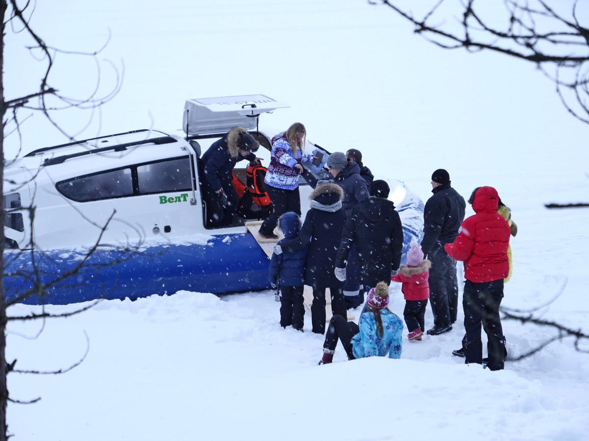 Зимний отдых в Калевале