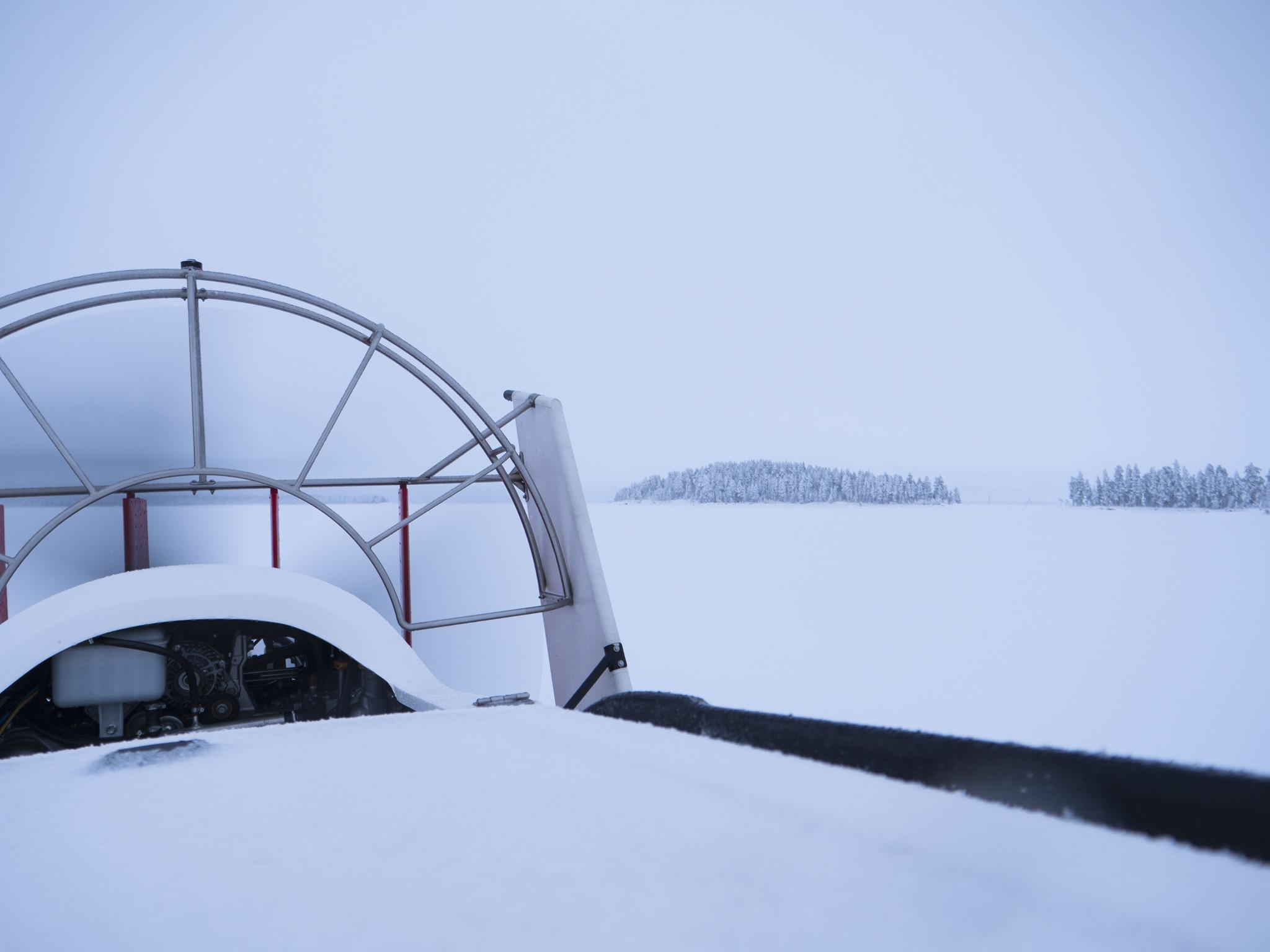Лыжи в Калевале