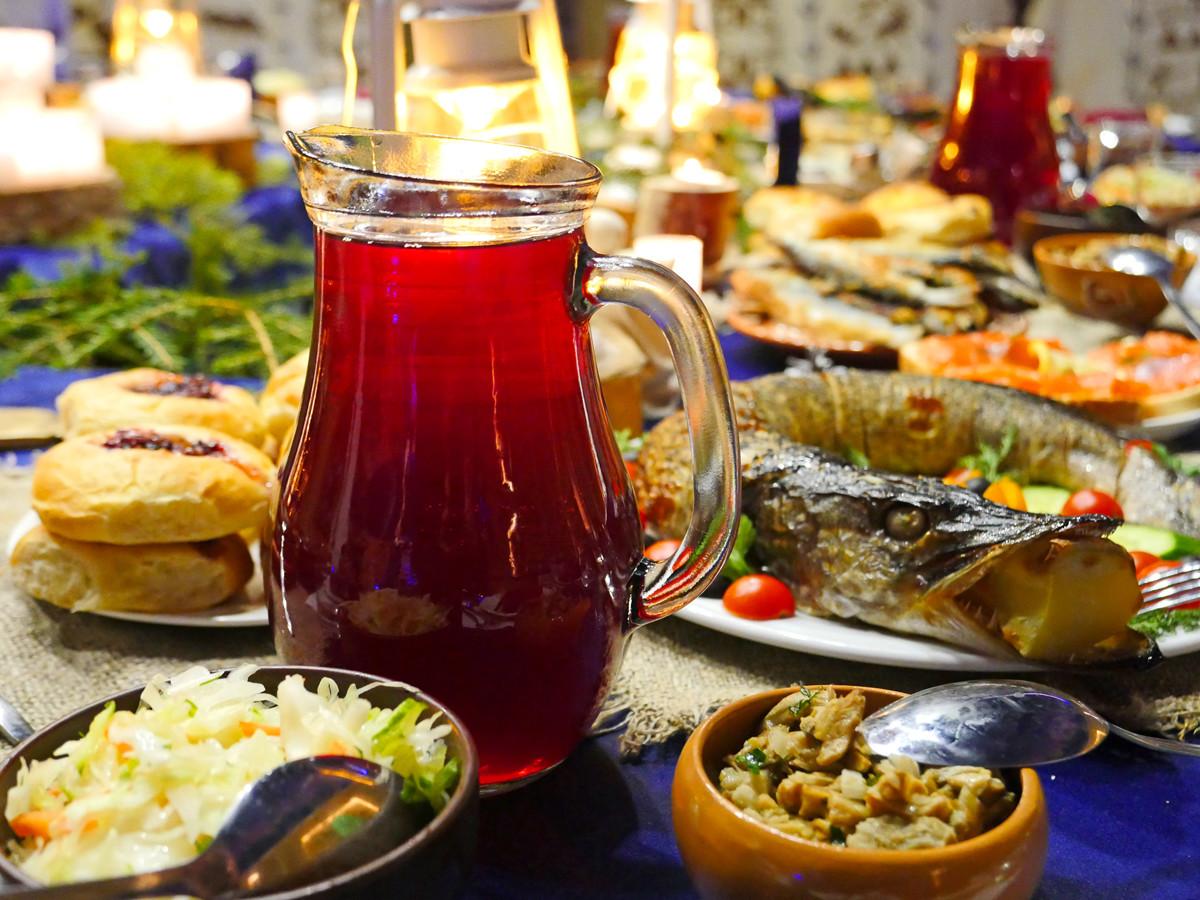 Кухня Карелии - карельская трапеза в Калевале