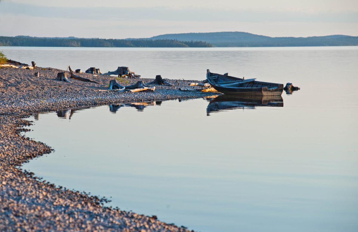 Жемчужина Северной Карелии хрустальное озеро Куйто