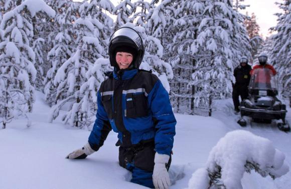 Рождество Snow Драйв