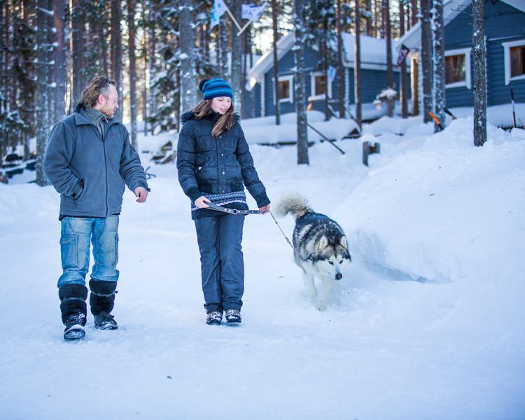 отдых в Карелии зимой - аренда коттеджа