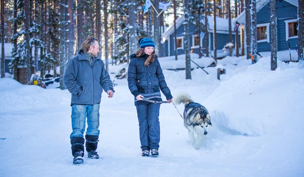 Где остановиться в Карелии зимой - коттеджи