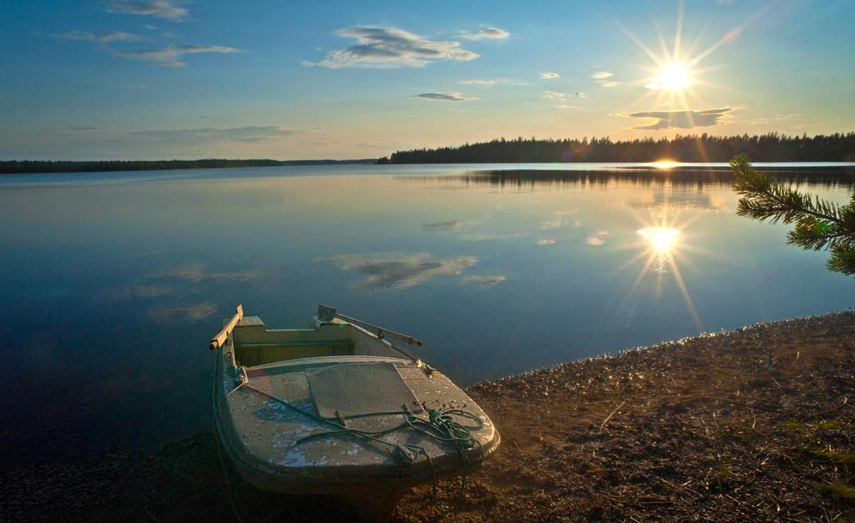 И о погоде отдых в Северной Карелии летом