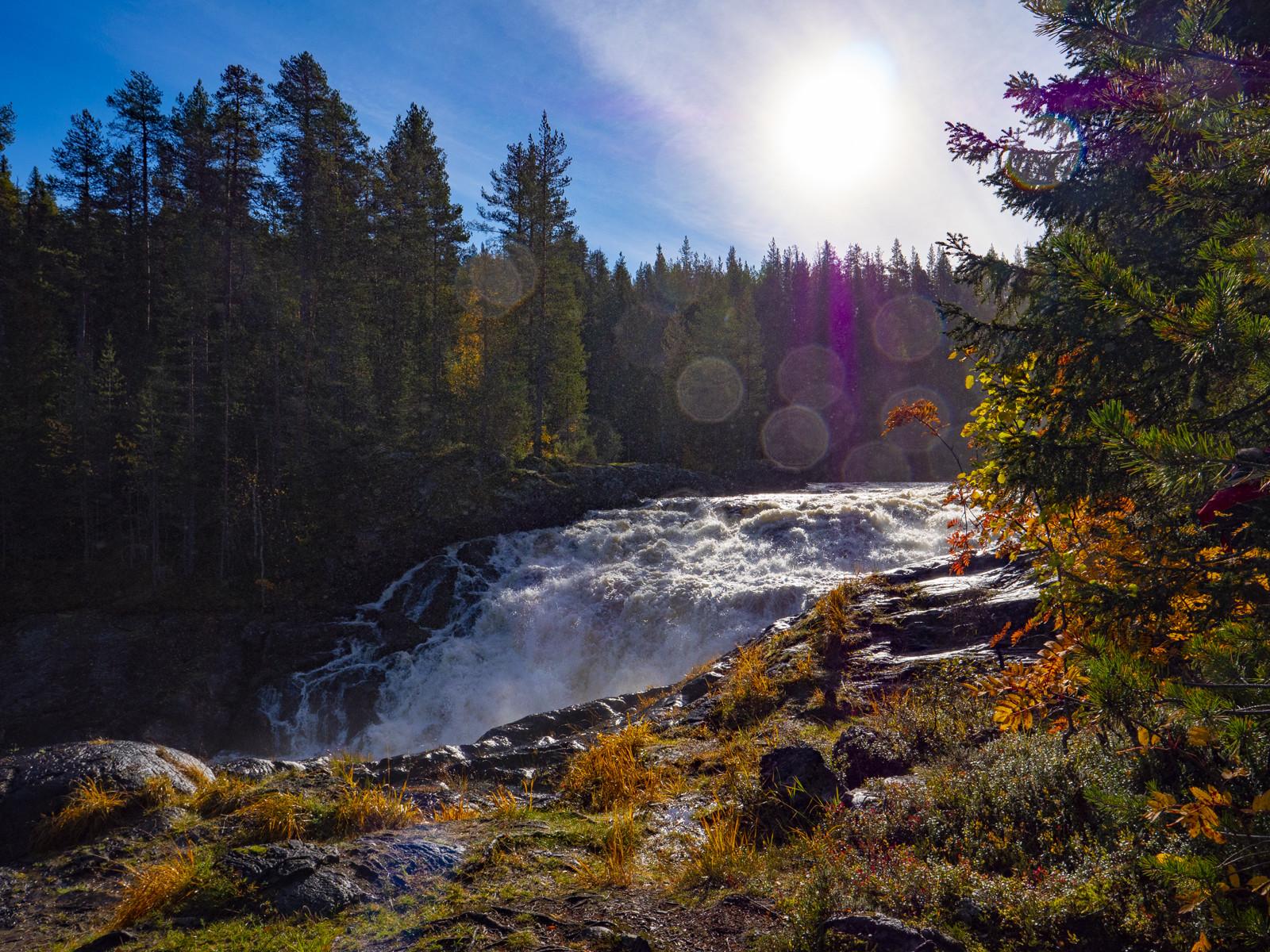 Отдых в Северной Карелии осенью