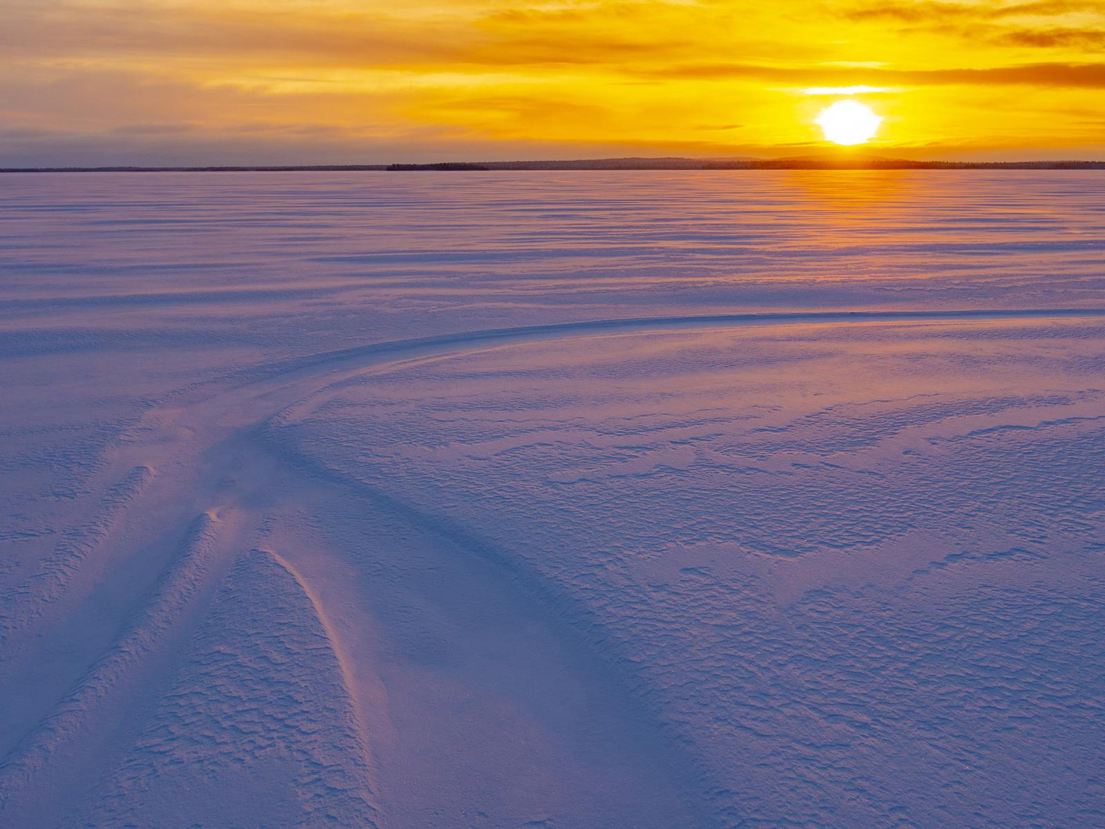 Лапландский календарь отдых в Северной Карелии зимой