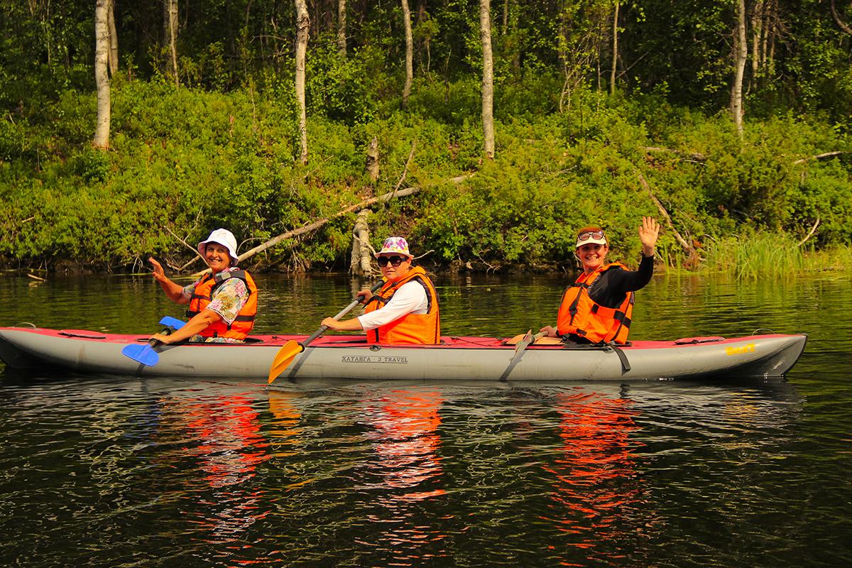 Отдых в Карелии Калевала пеше-водный поход