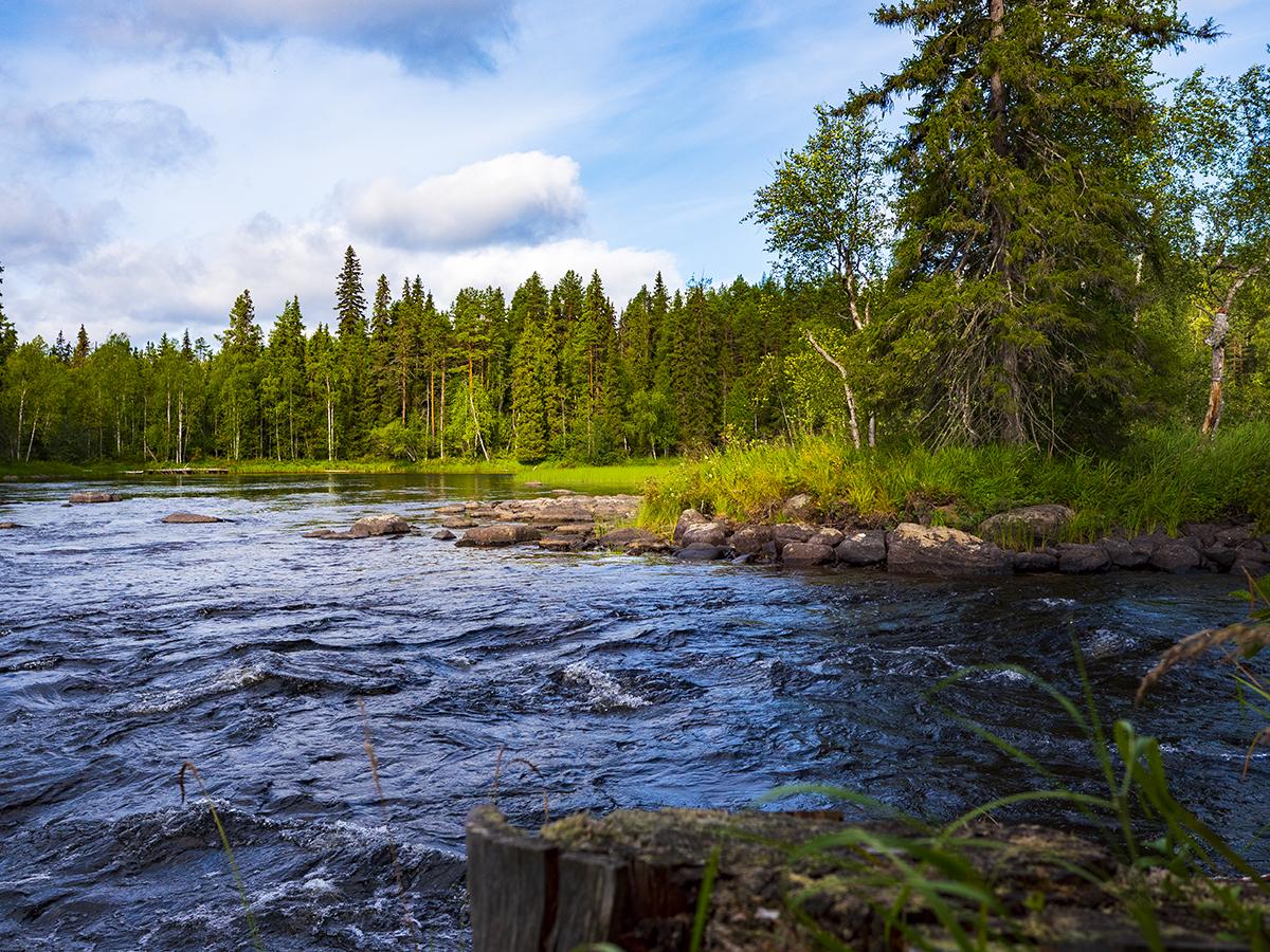 Вяйнямёйнен Рафт Драйв и сплав по реке Пистайоки